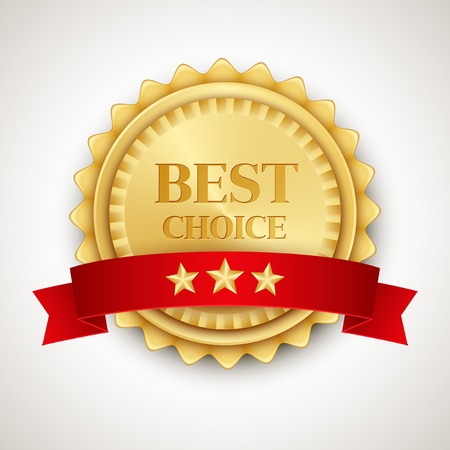 Best choice icon badge Vector illustration Vector