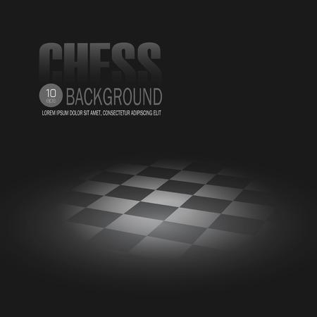chessboard: Black Chessboard. Template Vector background  Illustration