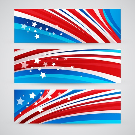 Presidents Day Vector Background. USA Patriotic illustration