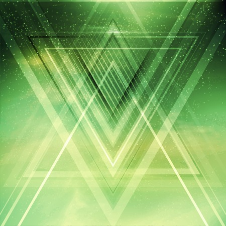 Abstract triangle future vector background   Çizim