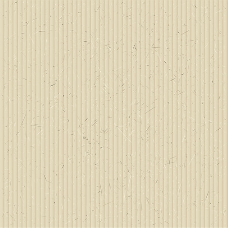corrugated cardboard: The texture of corrugated cardboard. Vector illustration