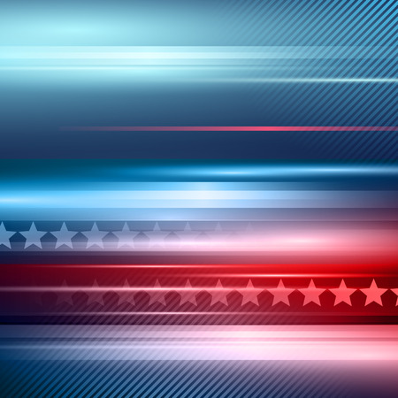 patriotic background: American Independence Day.