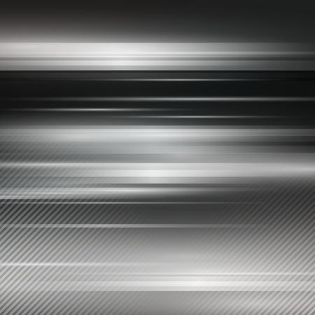 metallic: Gray abstract metallic background. Vector illustration