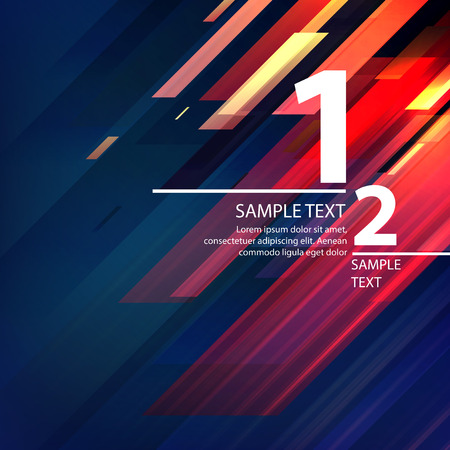 geometric lines: Abstract bright background with diagonal lines. Vector illustration EPS 10