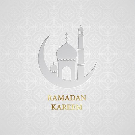 Ramadan greetings background. Ramadan Kareem.  Vettoriali