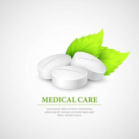 wit: Pill Wit Leaf.  Illustration