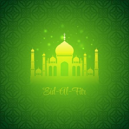 Eid Al Fitr. Eid Mubarak. Vector background EPS 10