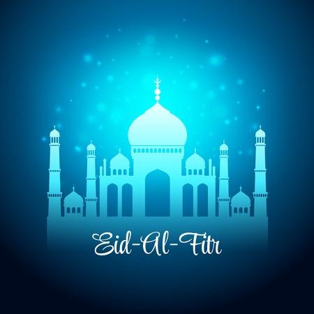 al: Eid Al Fitr. Eid Mubarak. Vector background EPS 10