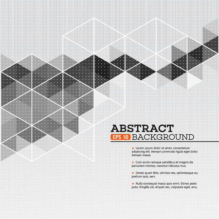 Abstract template background with triangle shapes EPS 10 Illustration