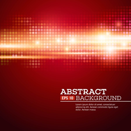 Abstract  bokhe lights background. Disco music. Vector illustration.