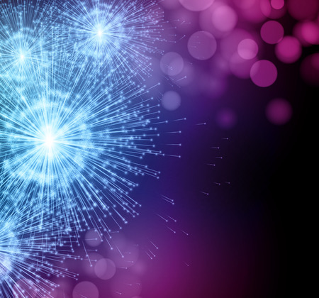celebra: Celebre los fuegos artificiales del sparkler partido