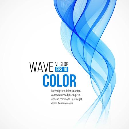 caudal: fondo con la onda azul