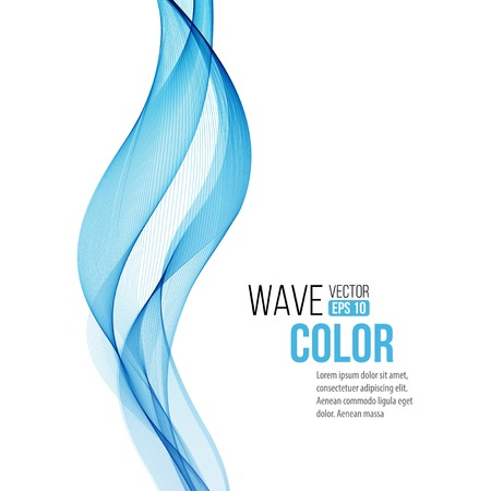 background with blue wave