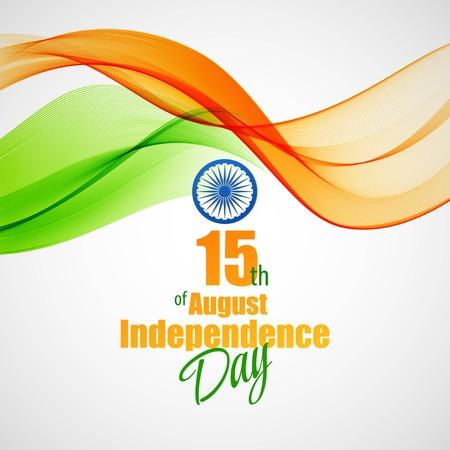 크리 에이 티브 인도 독립 기념일 개념 일러스트