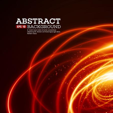 AFere 光渦の背景。  イラスト・ベクター素材