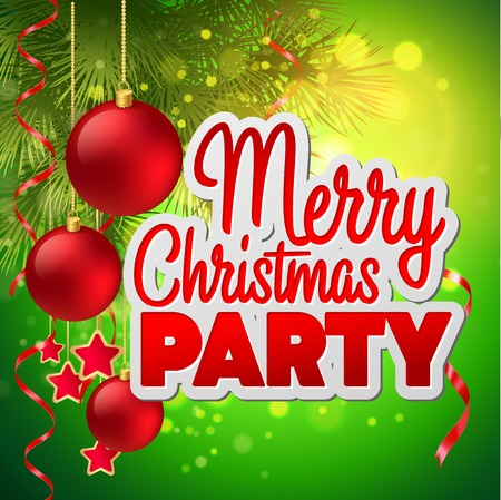 christmas party: Christmas party flyer