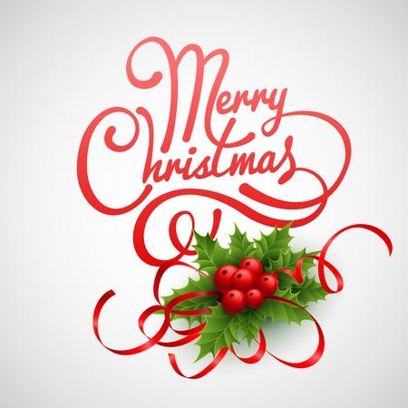 christmas card: Christmas greeting card