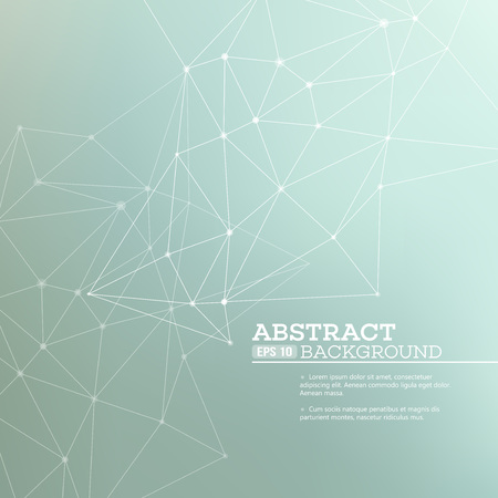 Abstract background with  connection concept. Vector illustration EPS 10