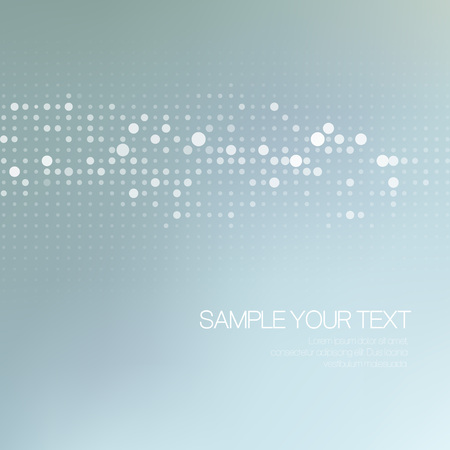 Modernistic abstract dot tech background. Vector illustration EPS 10