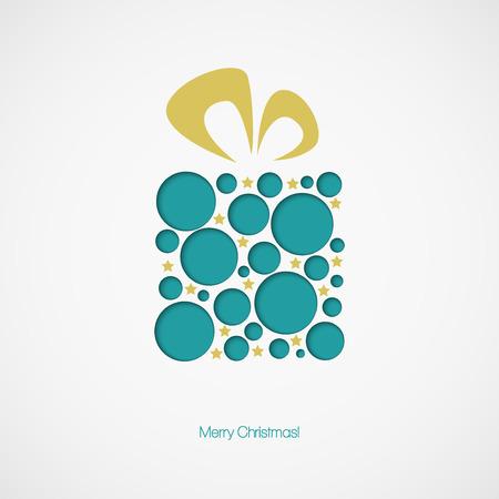 christmas gift box: Christmas  gift box. Vector illustration EPS 10