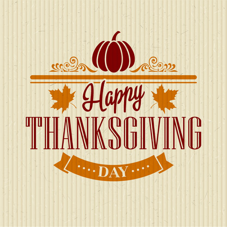 fond de texte: Conception typographique Thanksgiving. Vector illustration EPS 10