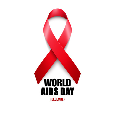 Aids Awareness. World Aids Day concept. Vector illustration EPS10 Stock Illustratie