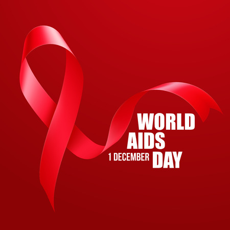 sexual health: Aids Awareness. World Aids Day concept. Vector illustration EPS10 Illustration
