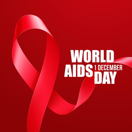 aids virus: Aids Awareness. World Aids Day concept. Vector illustration EPS10 Illustration
