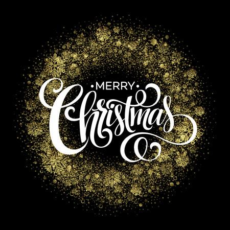 joyeux noel: cierges magiques de Noël en forme de guirlande de Noël sur fond noir.