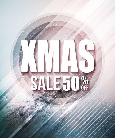 last year: Christmas sale poster or flyer.
