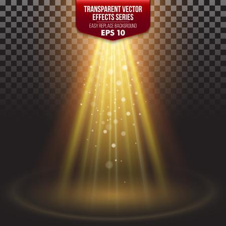 Transparante Series Effects. Eenvoudige vervanging van de achtergrond