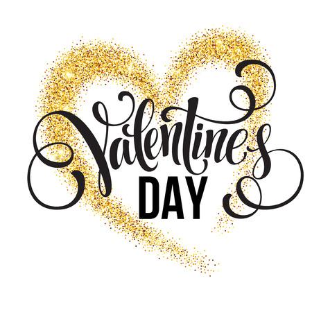 white heart: Sparkle glitter Valentines Day heart.