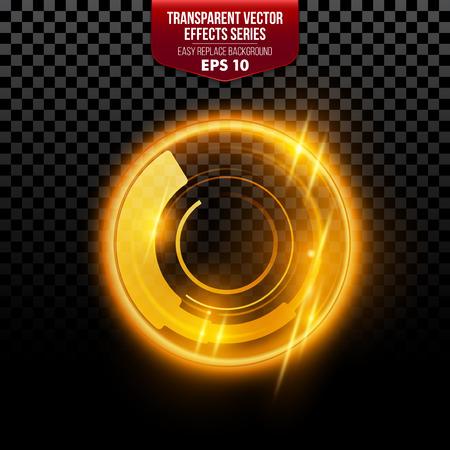 flare light: Transparent special lens flare light effect. Vector illustration EPS10 Illustration