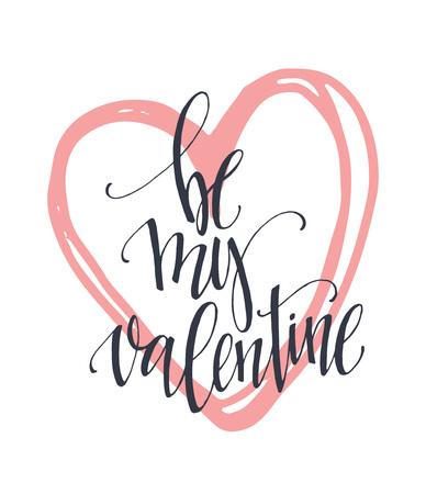 Valentine Day and Love letters collectie. Vector illustratie EPS10 Vector Illustratie
