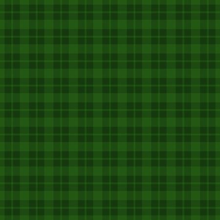 녹색 체크 무늬 원활한 패턴 배경입니다. 벡터 일러스트 레이 션 EPS10