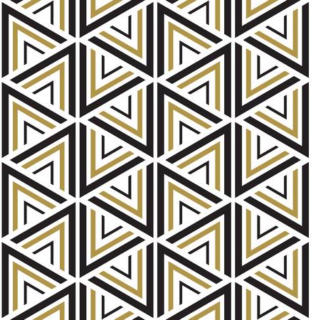 Wektor bez szwu. Nowoczesny, stylowy tekstury. Czarno-biały bez szwu geometryczny wzór. Ilustracje wektorowe