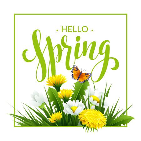 spring time: Inscription Spring Time.