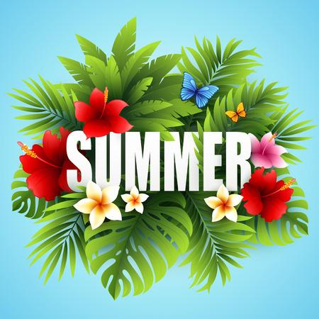 tropical: Summer tropical.