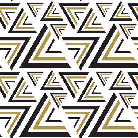 triangle pattern: Triangle black, white seamless pattern.