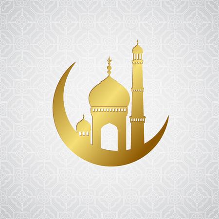 greetings card: Ramadan greetings card background. Vector illustration EPS10