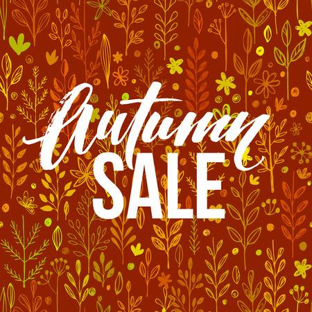 seasonal: Autumn seasonal banner design.