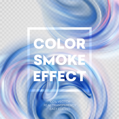 abstract smoke: Abstract colored smoke effect background design. Vector illustration EPS10 Illustration