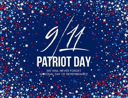 11 september 2001 patriot dag achtergrond. We zullen nooit vergeten. Achtergrond.