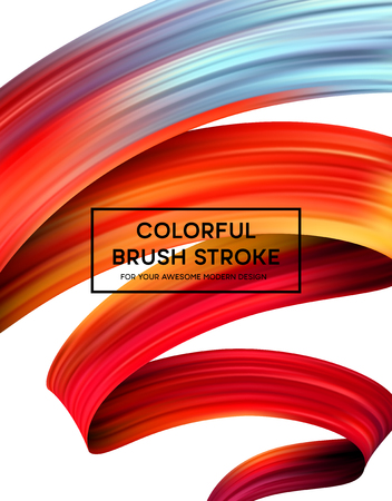 Bright Color Paint Stains for Modern Poster   design. Vector illustration