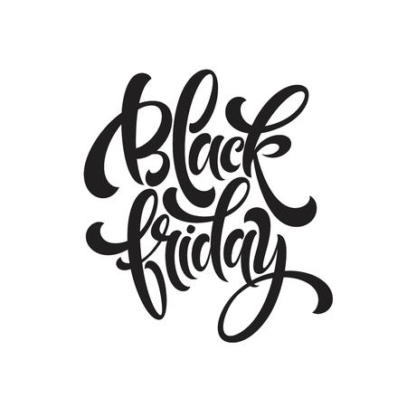 Black Friday Sale handmade lettering, calligraphy.