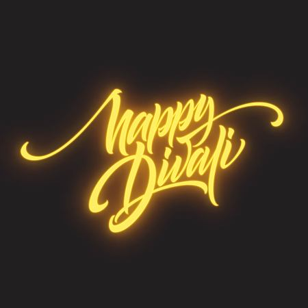 Happy Diwali Festival Bright. Stockfoto - 108445813