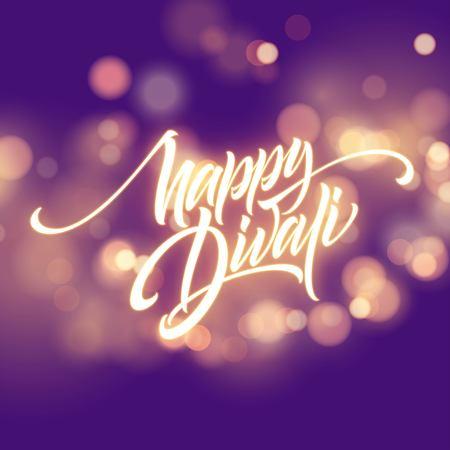 Happy Diwali Festival Bright. Illustration