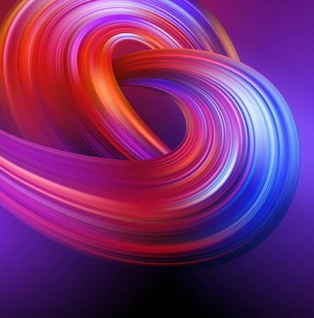 Bright abstract background with colorful swirl flow. Vector illustration 版權商用圖片