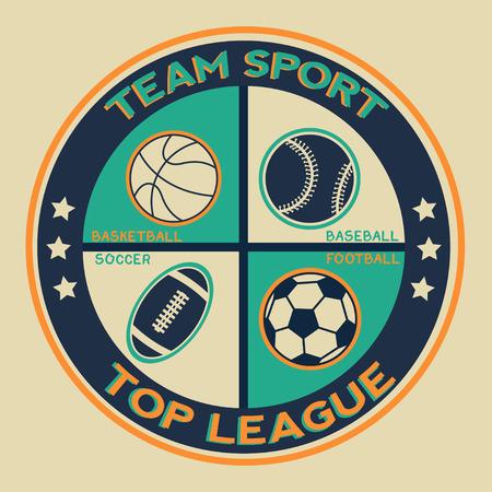 optionnel: Sports infographics optional banners. Vintage style. Illustration