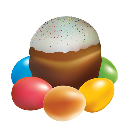 premise: Easter cakes and Easter eggs